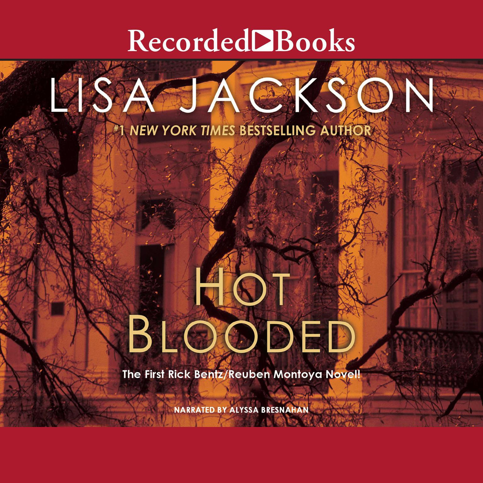 Printable Hot Blooded Audiobook Cover Art