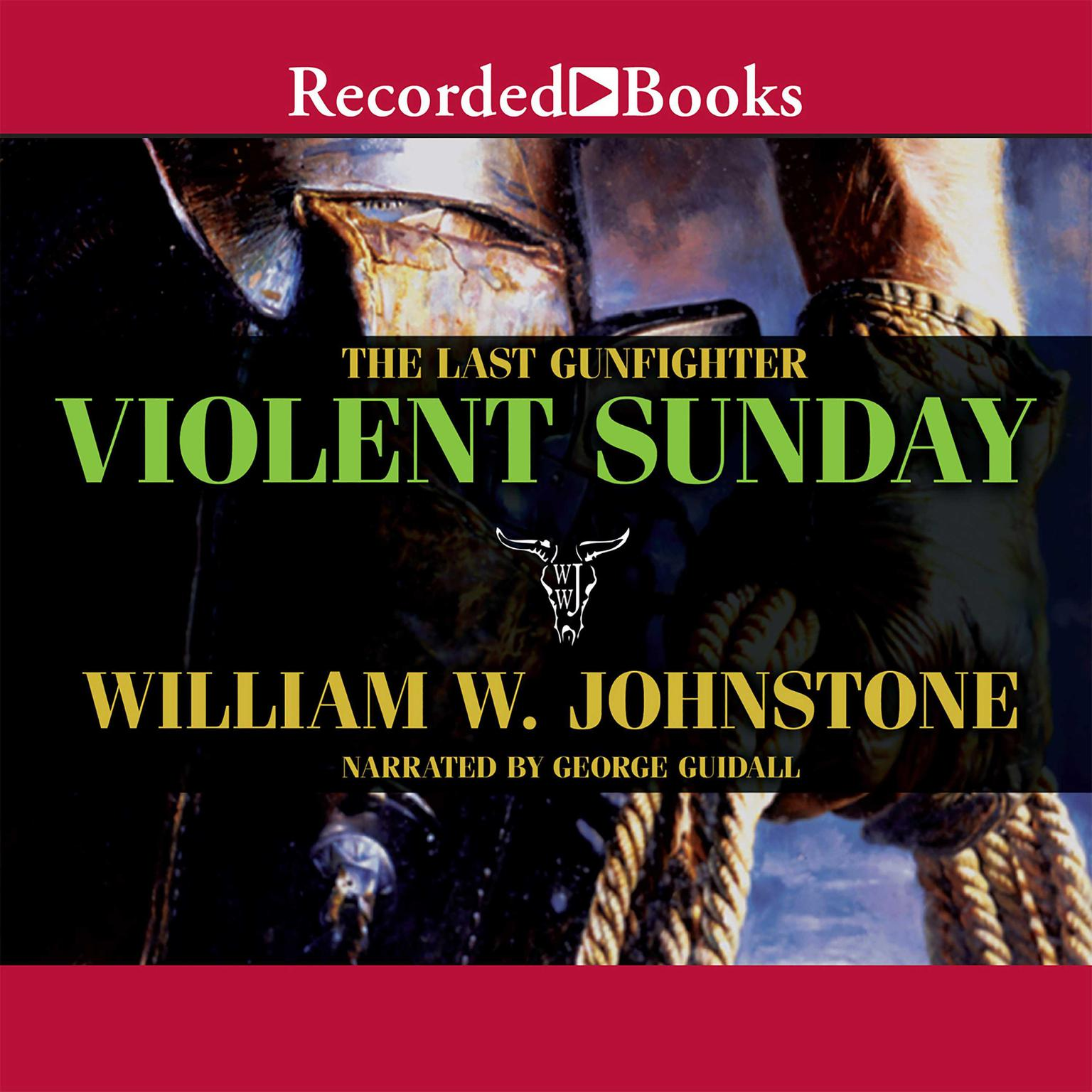 Printable Violent Sunday Audiobook Cover Art
