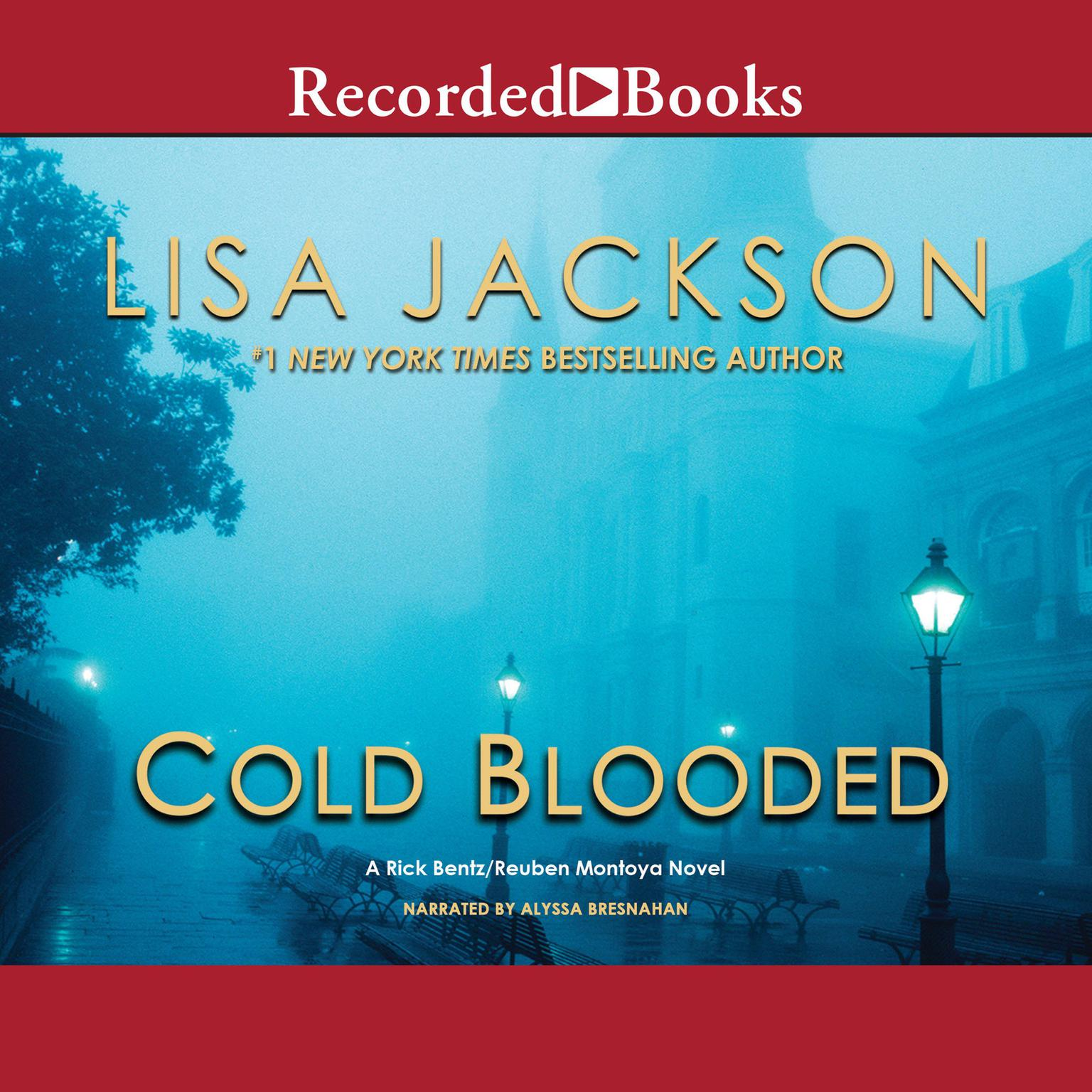 Printable Cold Blooded Audiobook Cover Art