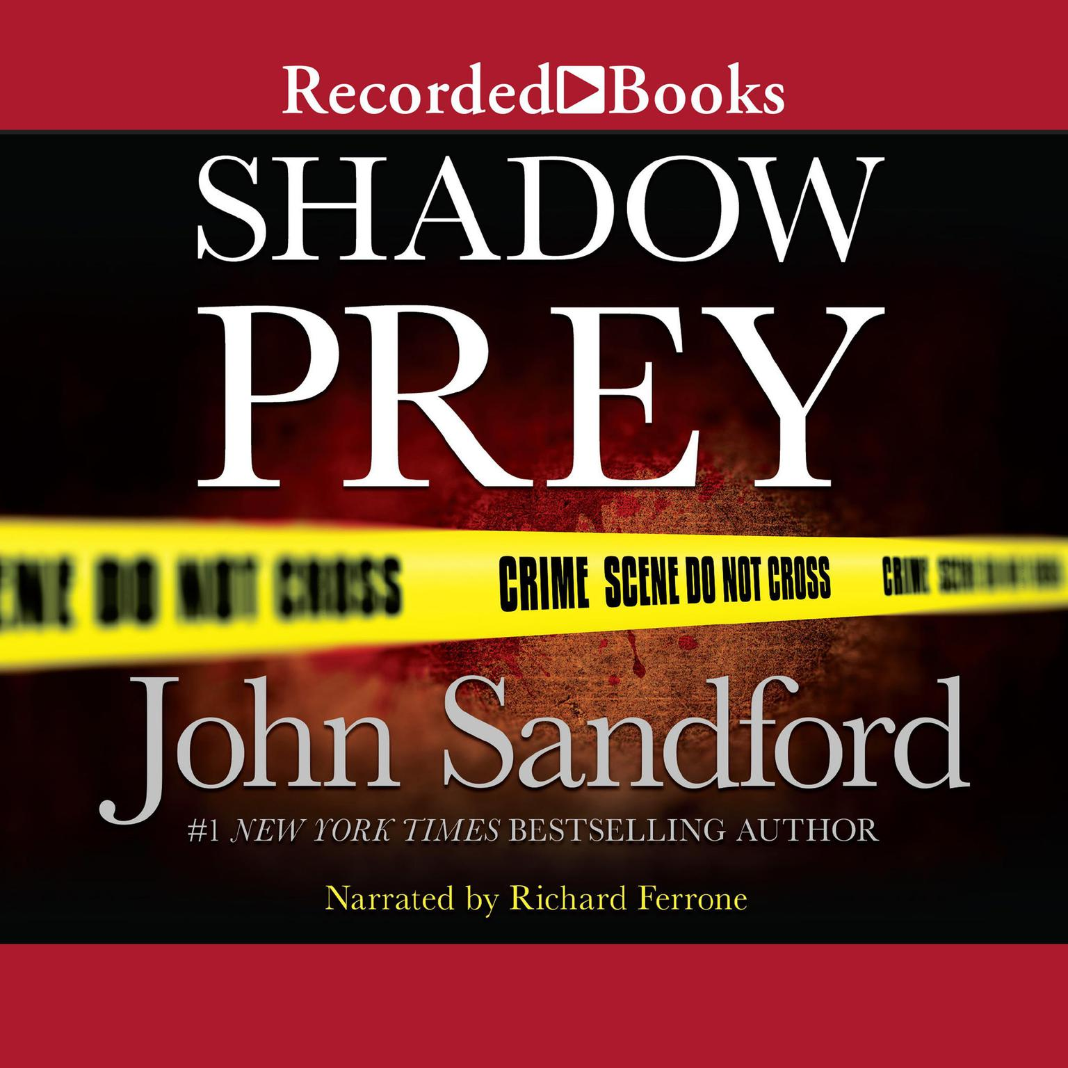 Printable Shadow Prey Audiobook Cover Art