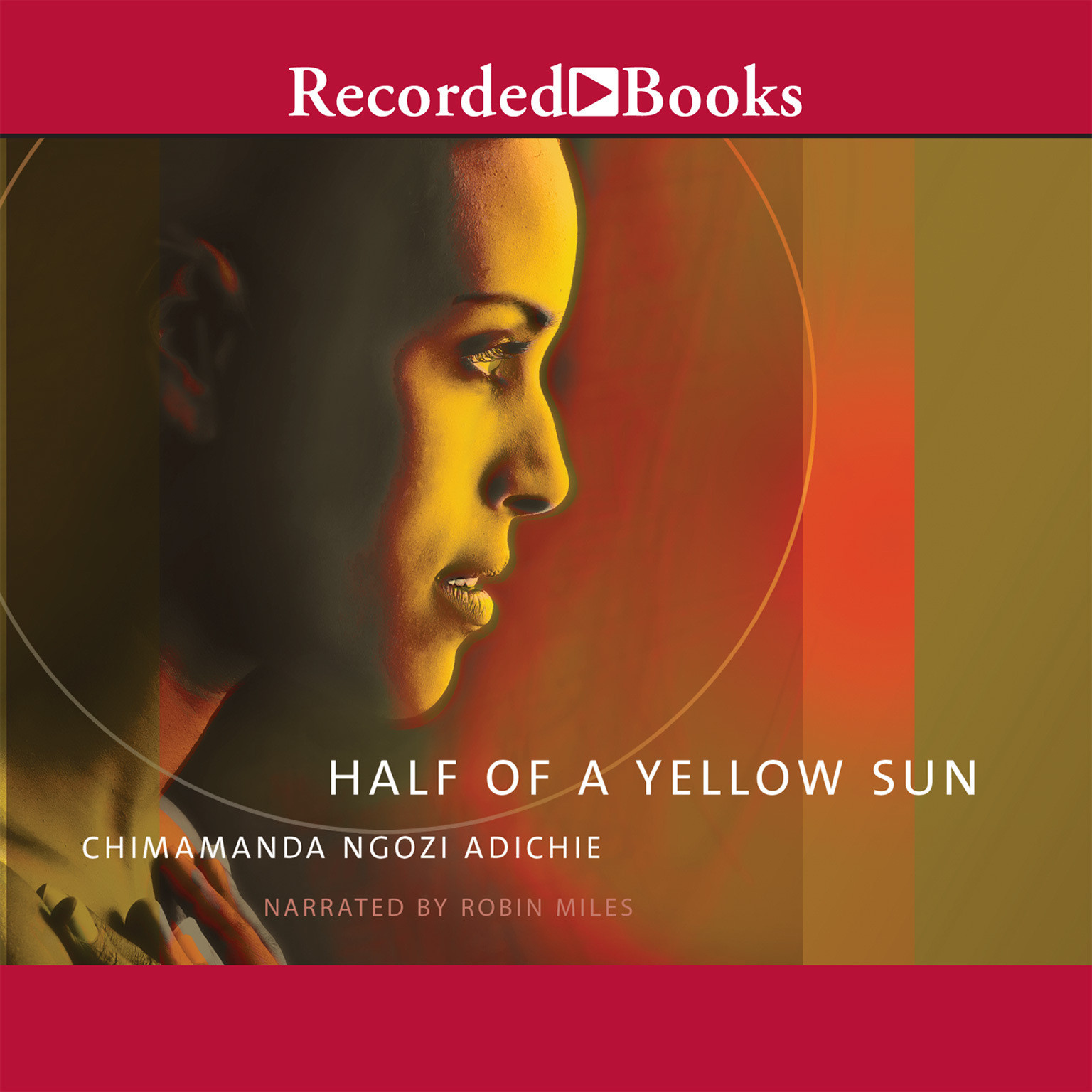 Printable Half of a Yellow Sun Audiobook Cover Art