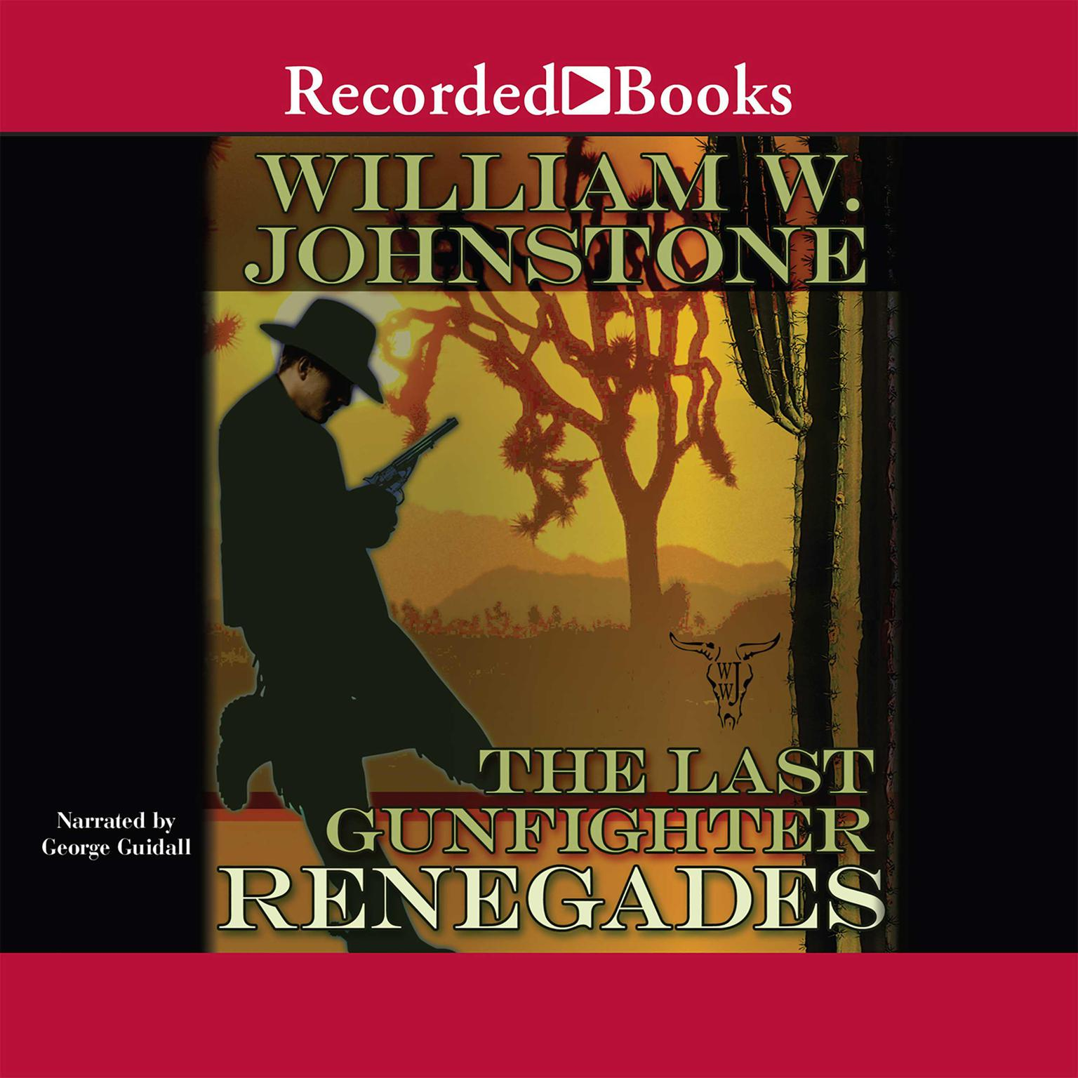 Printable Renegades Audiobook Cover Art