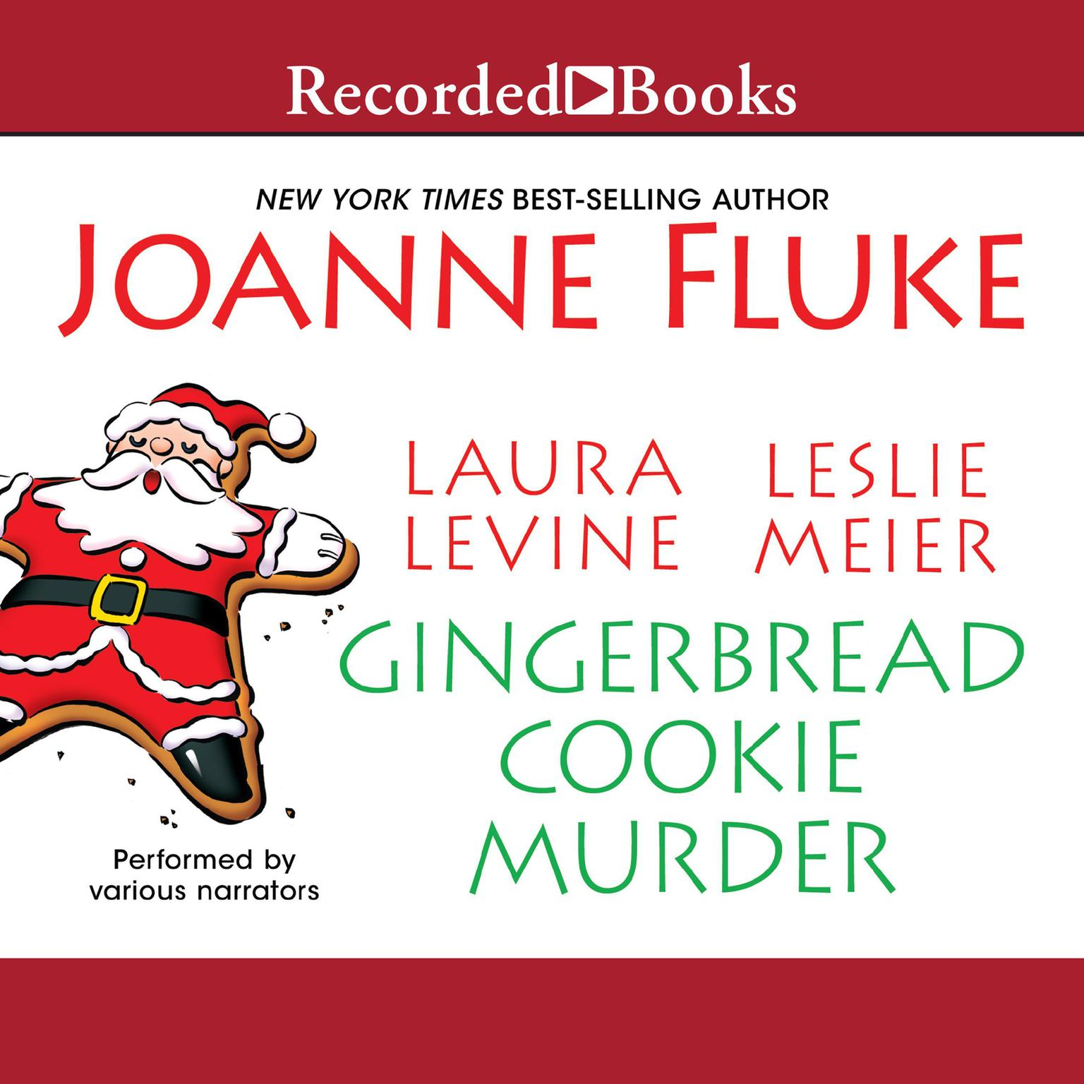 Printable Gingerbread Cookie Murder Audiobook Cover Art