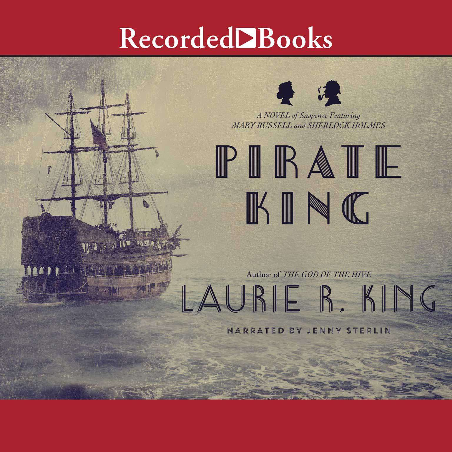 Printable Pirate King: A Novel of Suspense Featuring Mary Russell and Sherlock Holmes Audiobook Cover Art