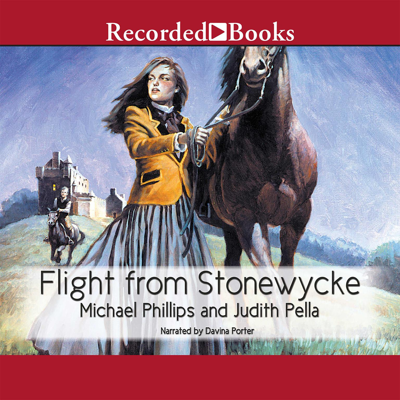 Printable Flight from Stonewycke Audiobook Cover Art