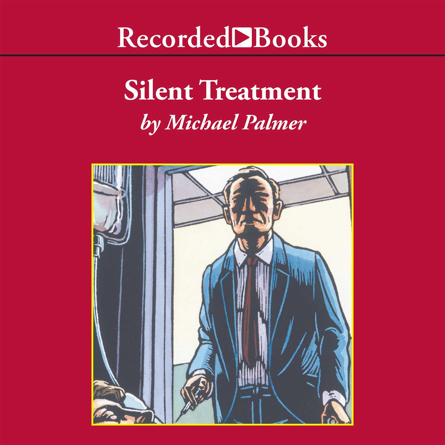 Printable Silent Treatment Audiobook Cover Art