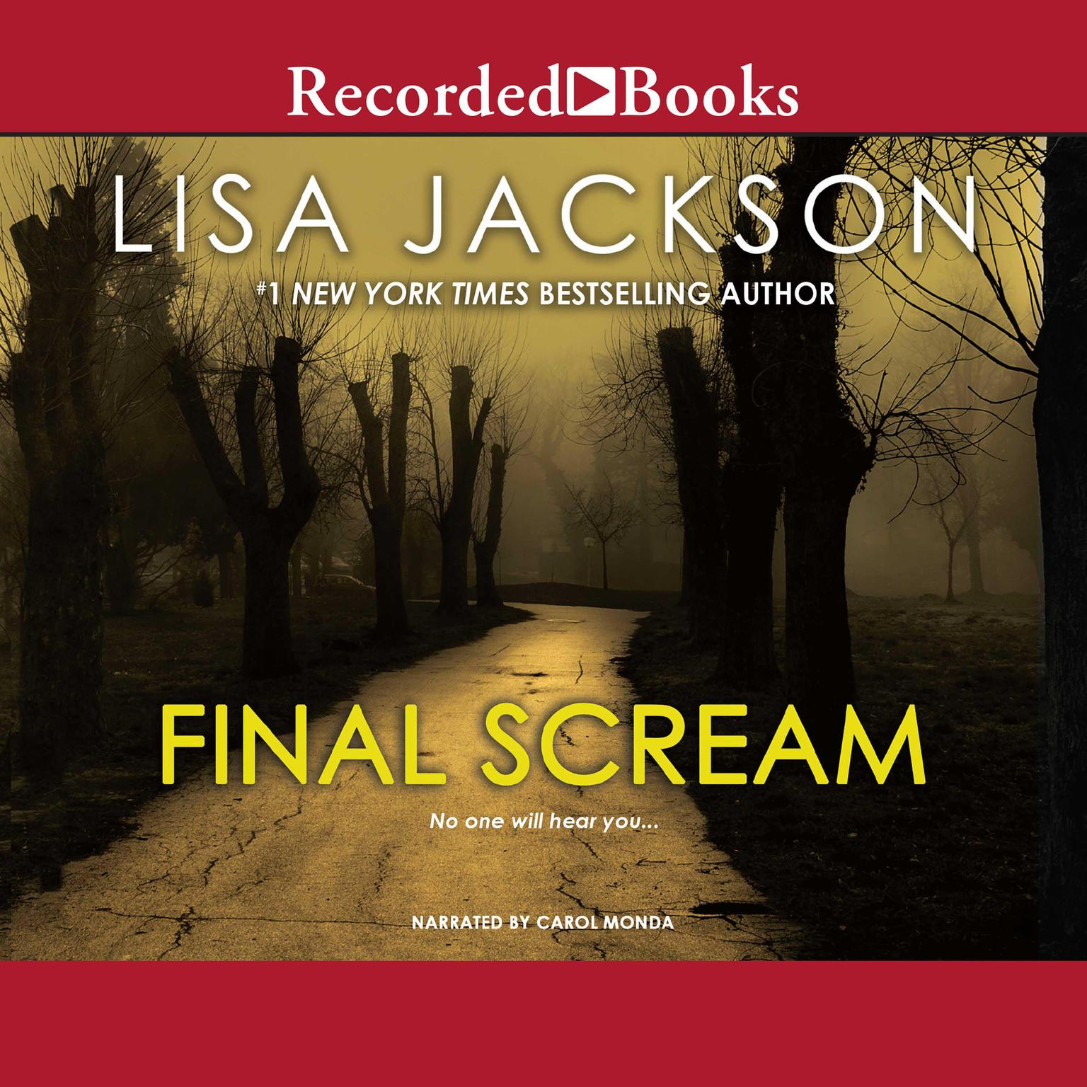 Printable Final Scream Audiobook Cover Art
