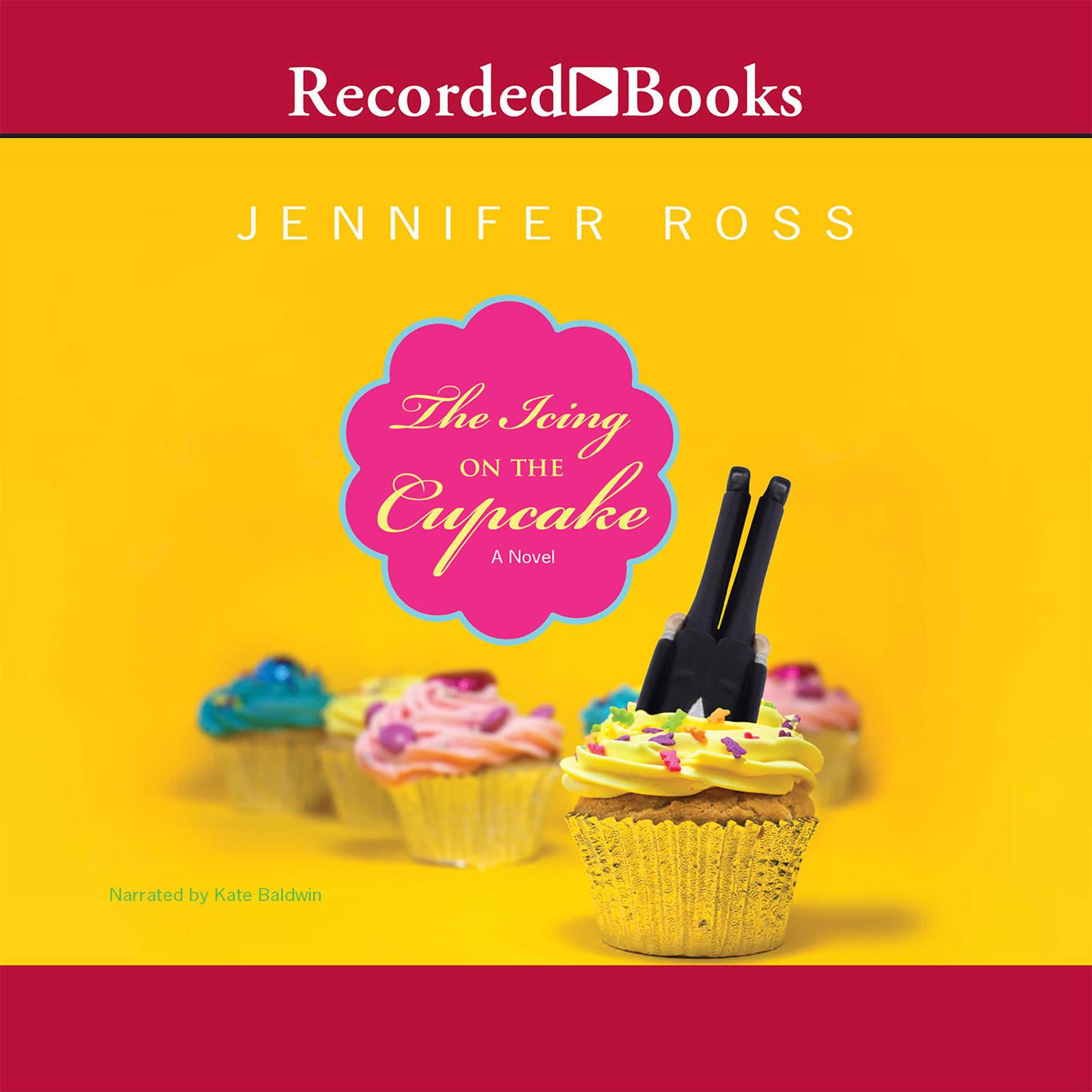 Printable The Icing on the Cupcake Audiobook Cover Art