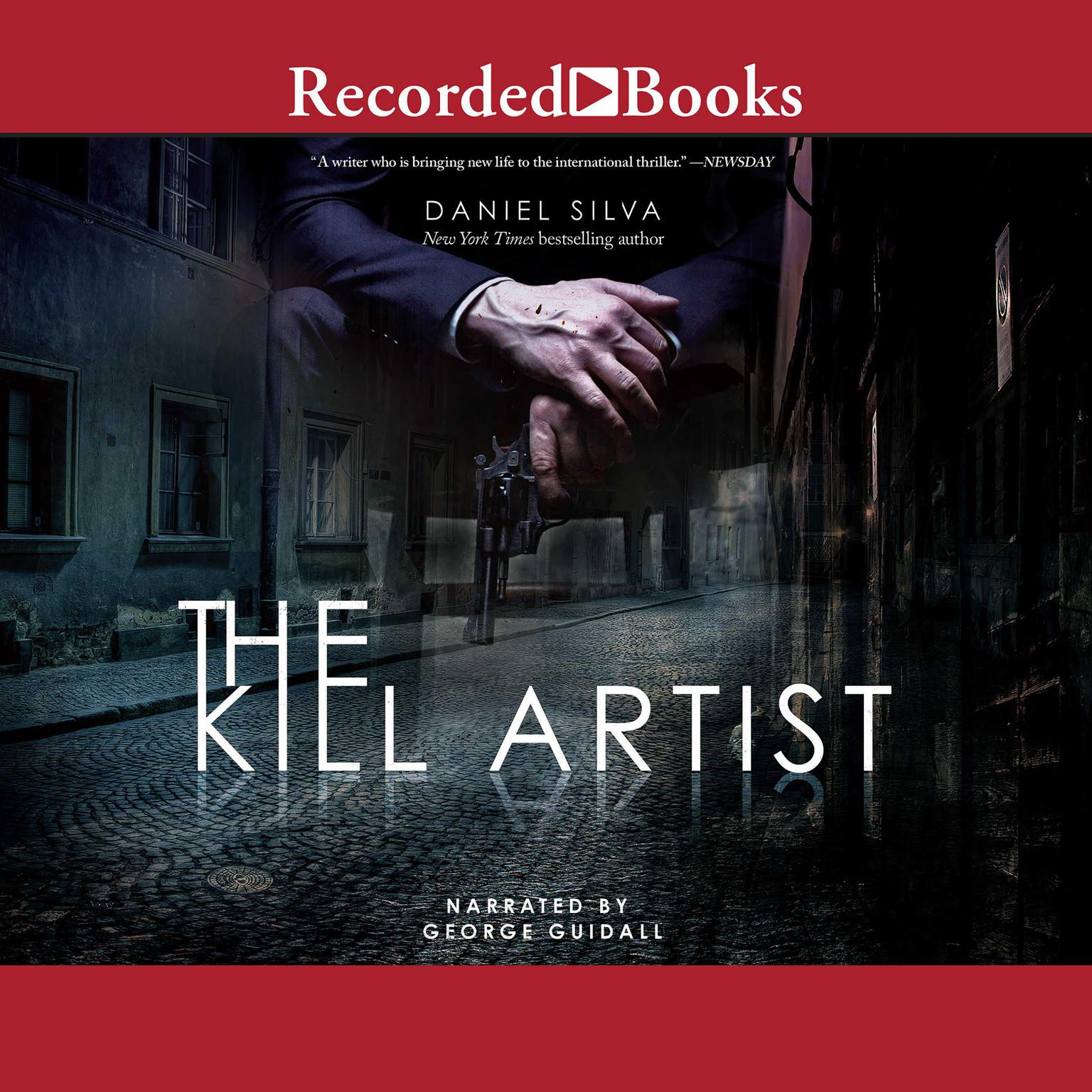 Printable The Kill Artist Audiobook Cover Art