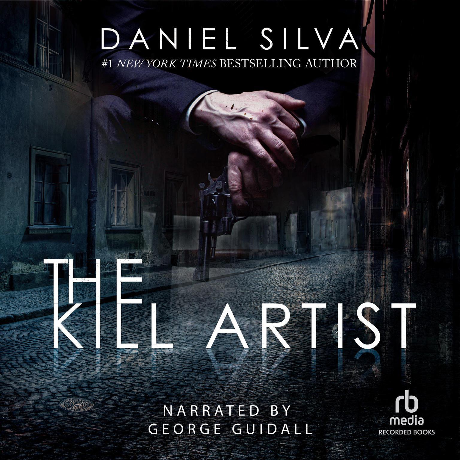 Printable The Kill Artist Audiobook Cover Art