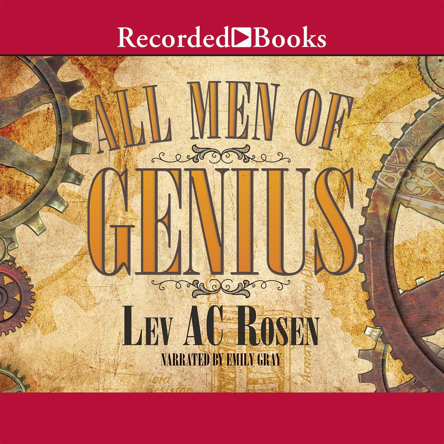 Printable All Men of Genius Audiobook Cover Art