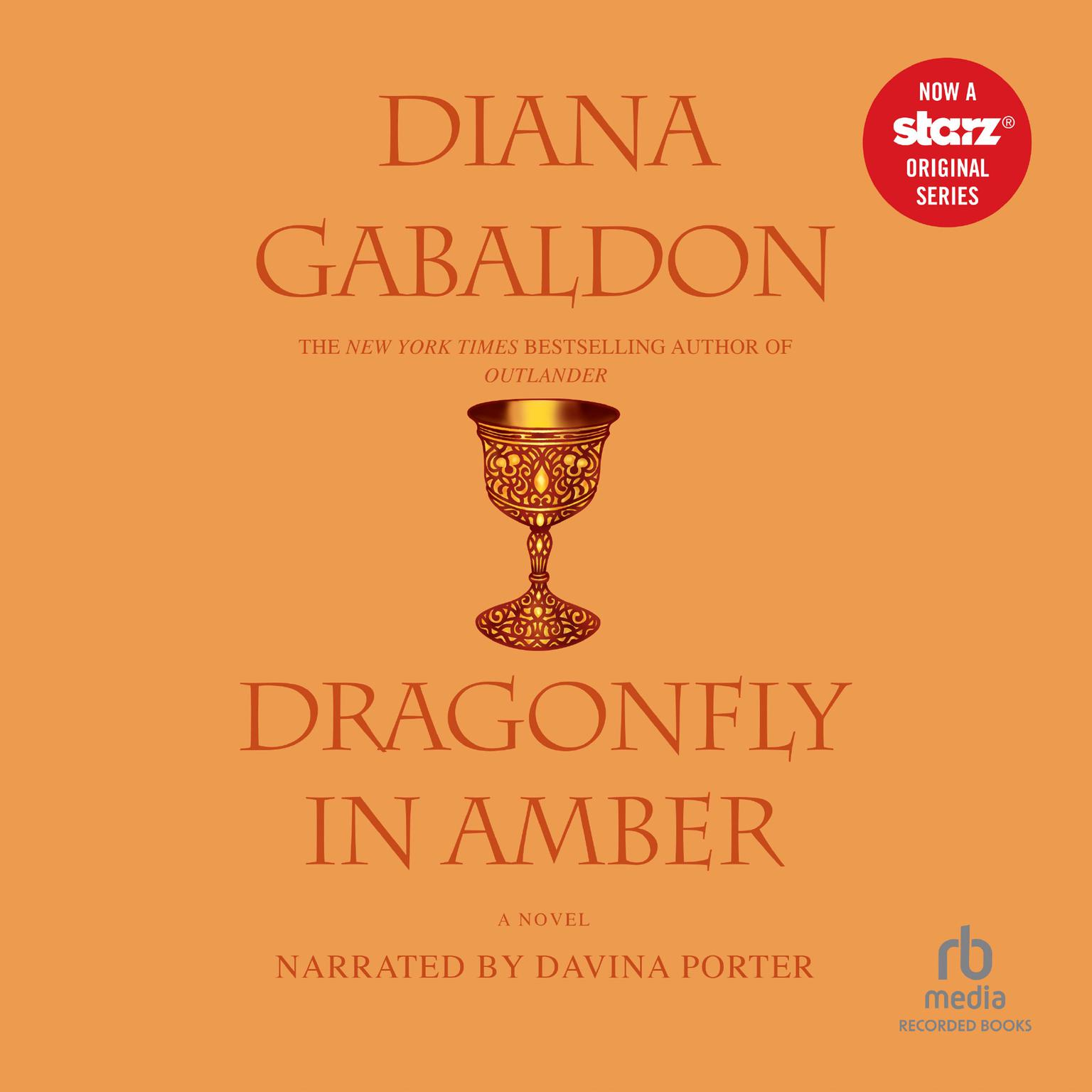 Printable Dragonfly in Amber: Sequel to Outlander Audiobook Cover Art