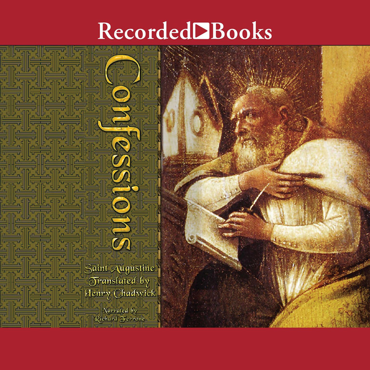 Printable The Confessions of St. Augustine Audiobook Cover Art