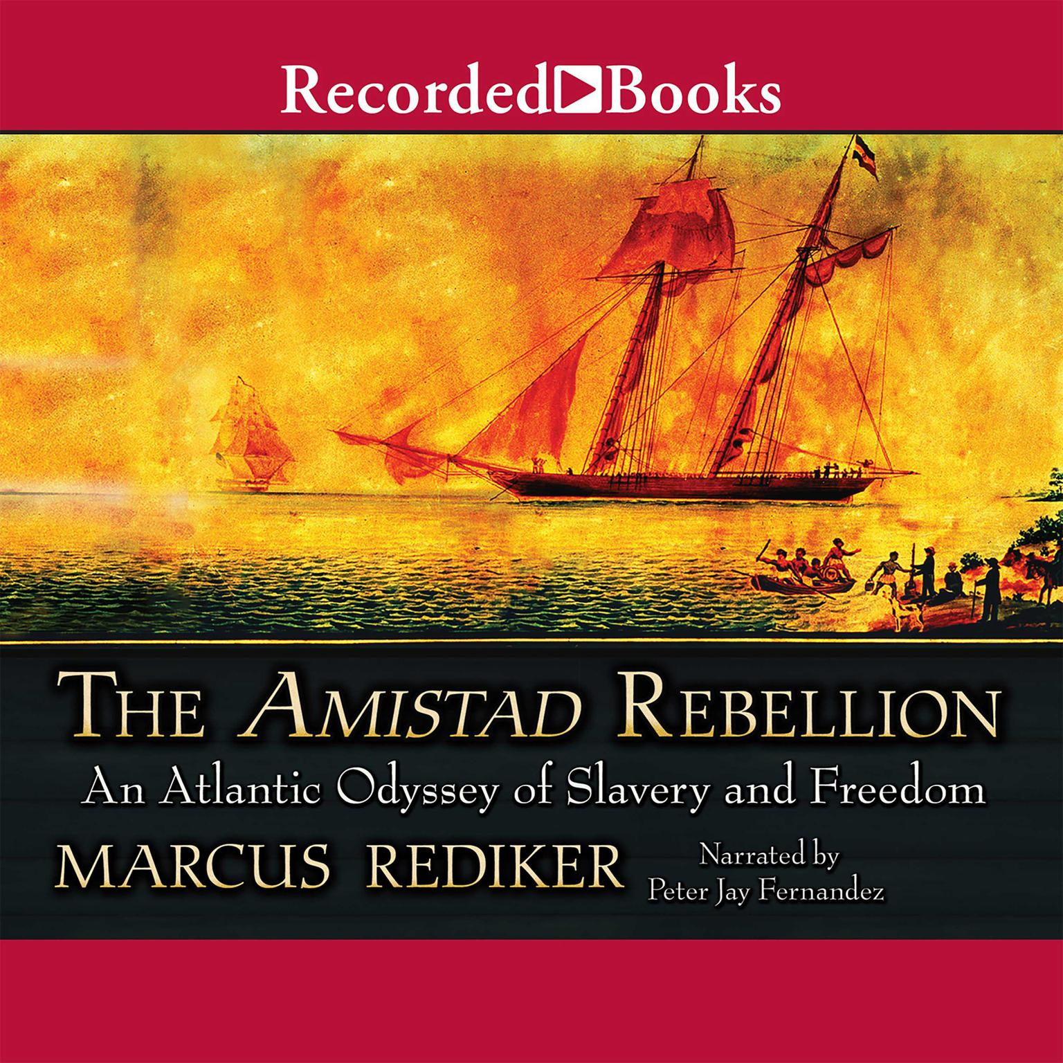 Printable The Amistad Rebellion Audiobook Cover Art