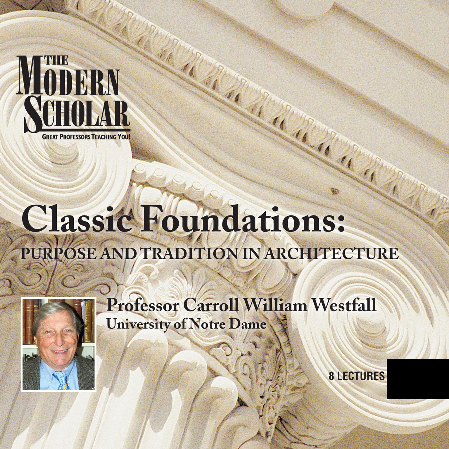 Printable Classic Foundations: Purpose and Tradition in Architecture Audiobook Cover Art