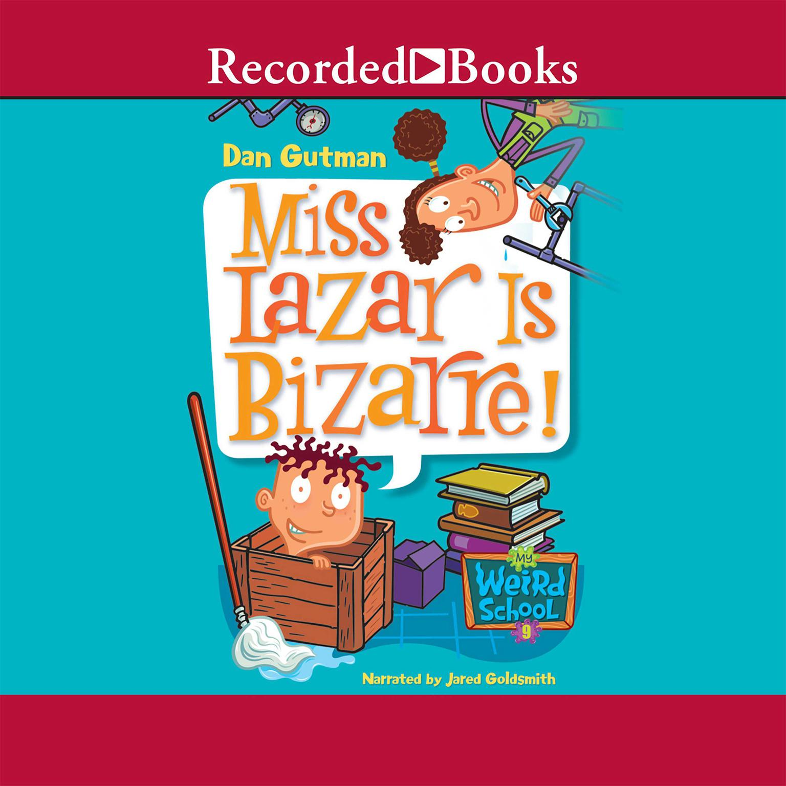 Printable Miss Lazar Is Bizarre! Audiobook Cover Art