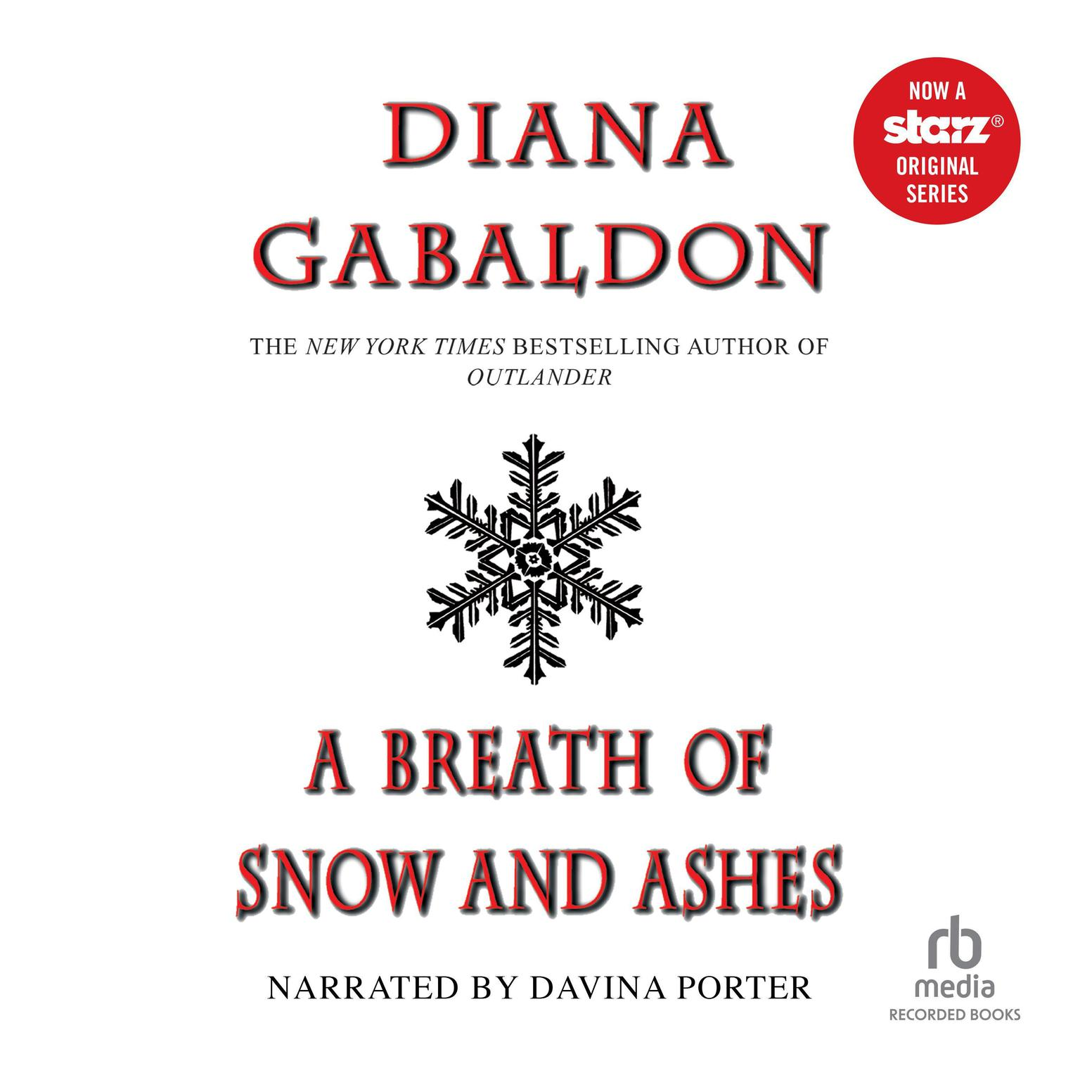 Printable A Breath of Snow and Ashes Audiobook Cover Art