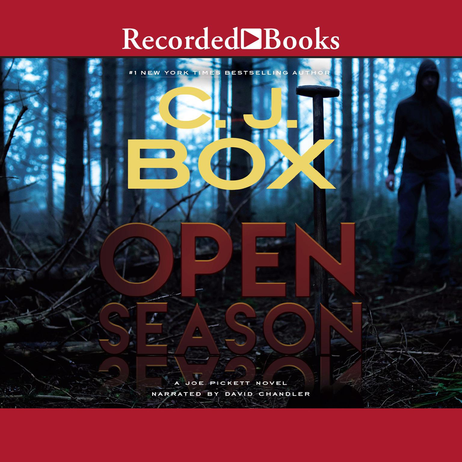 Printable Open Season Audiobook Cover Art