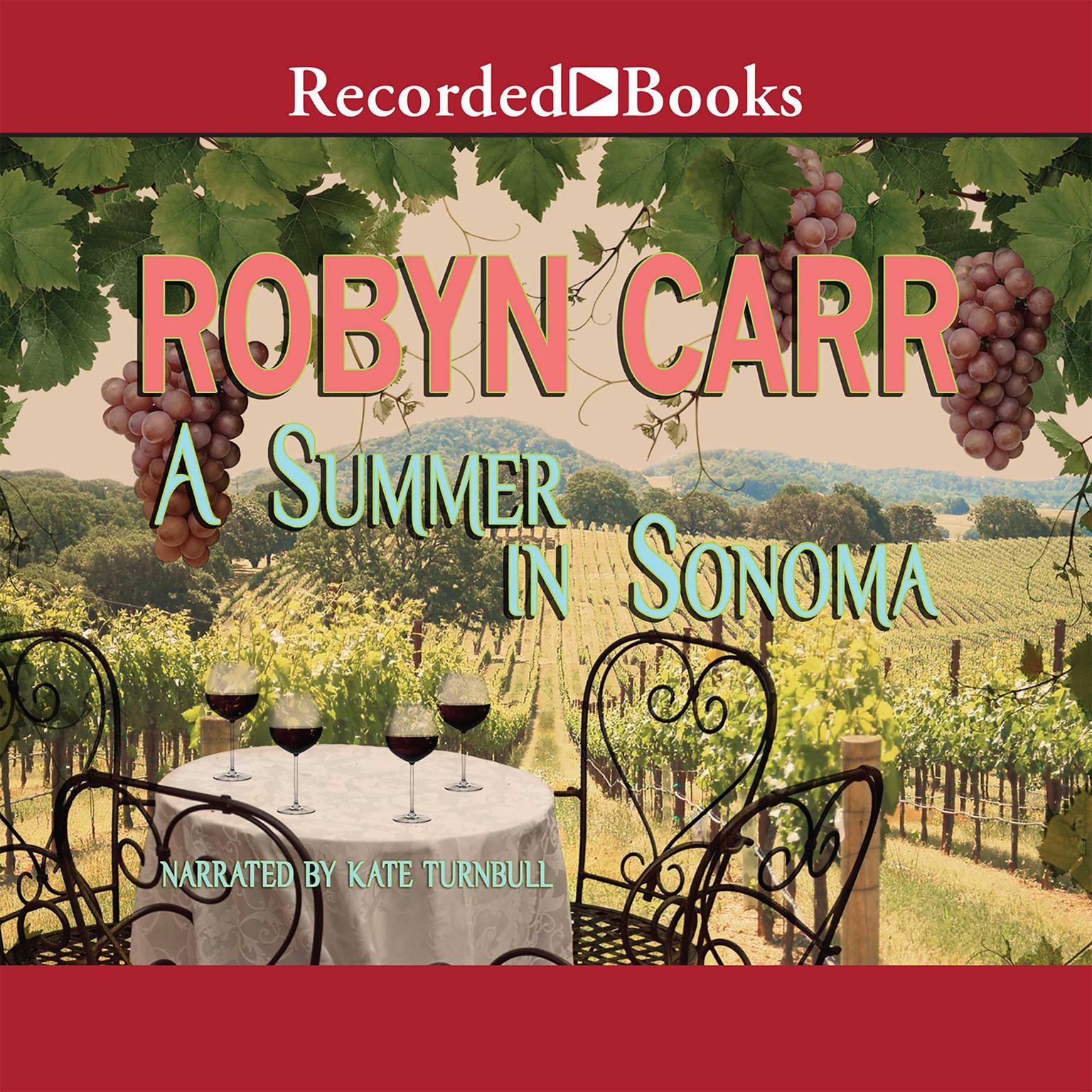 Printable A Summer in Sonoma Audiobook Cover Art