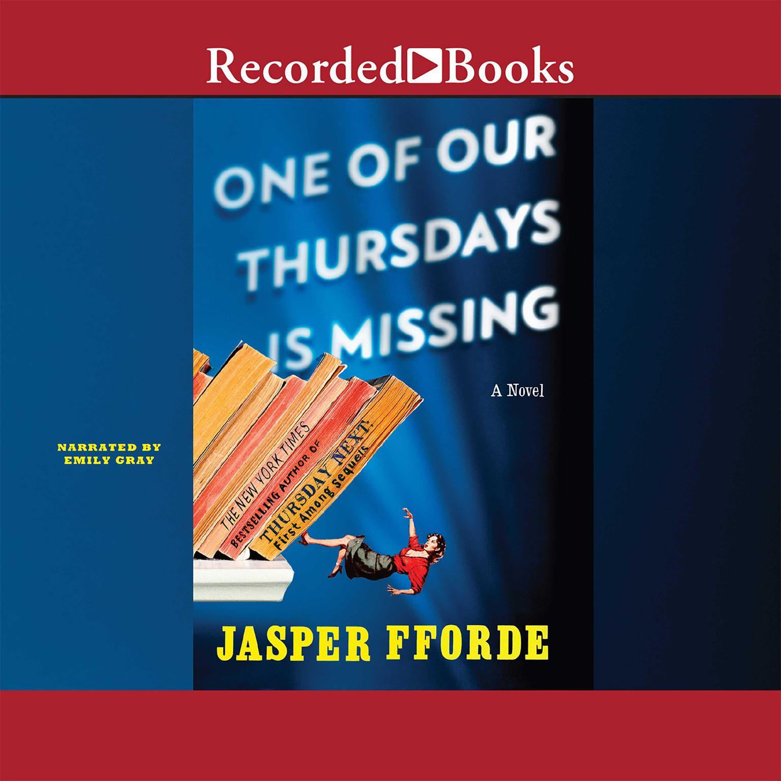 Printable One of Our Thursdays Is Missing Audiobook Cover Art