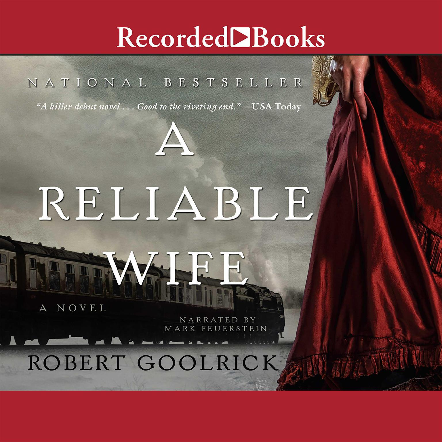 Printable A Reliable Wife Audiobook Cover Art
