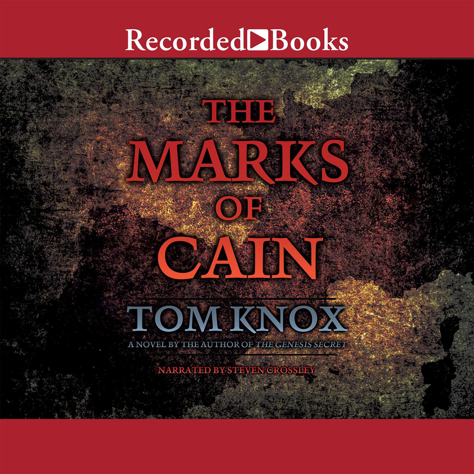 Printable The Marks of Cain Audiobook Cover Art