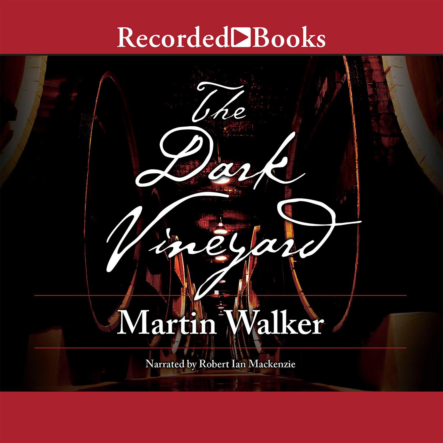 Printable The Dark Vineyard Audiobook Cover Art