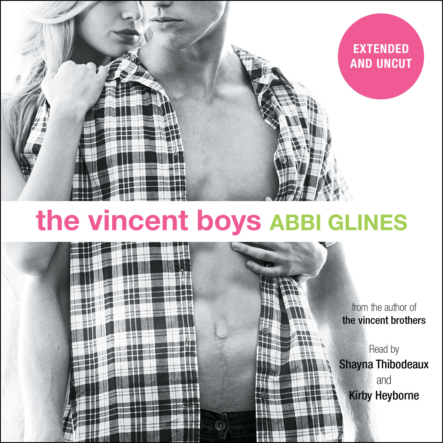 Printable The Vincent Boys—Extended and Uncut Audiobook Cover Art