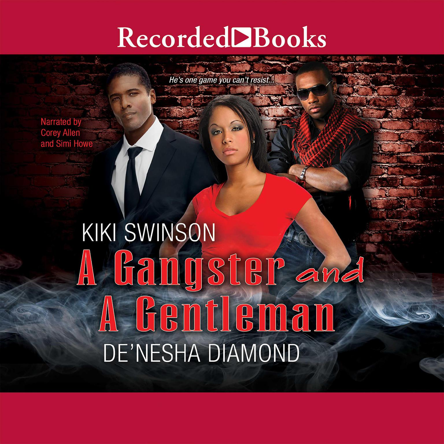 Printable A Gangster and a Gentleman: I Need a Gangsta; Gentlemen Prefer Bullets Audiobook Cover Art