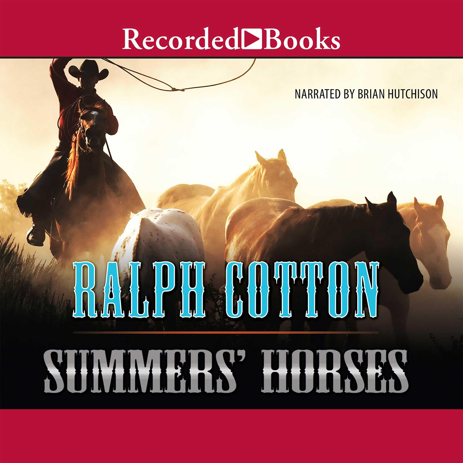 Printable Summers' Horses Audiobook Cover Art