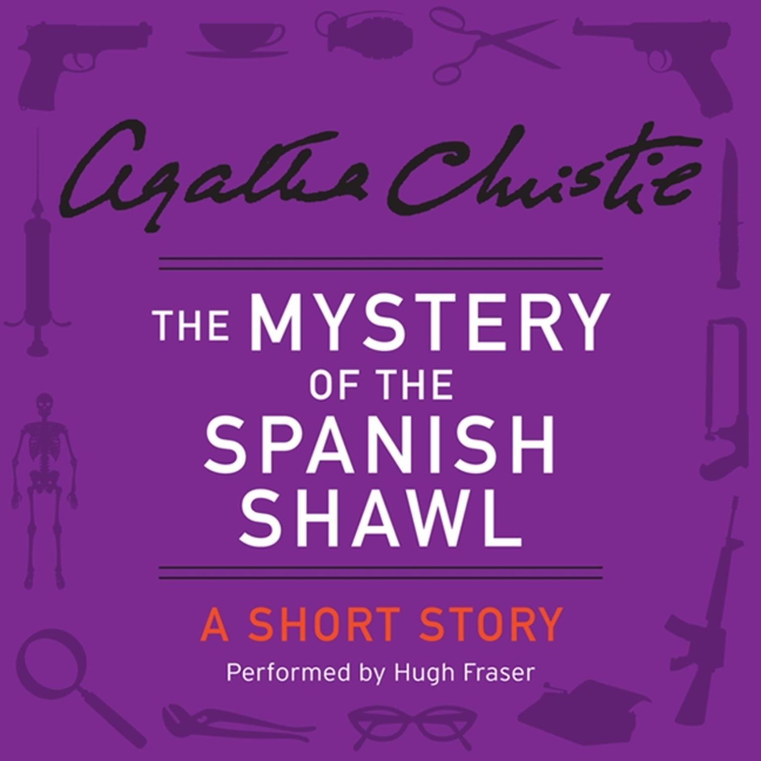 Printable The Mystery of the Spanish Shawl: A Short Story Audiobook Cover Art