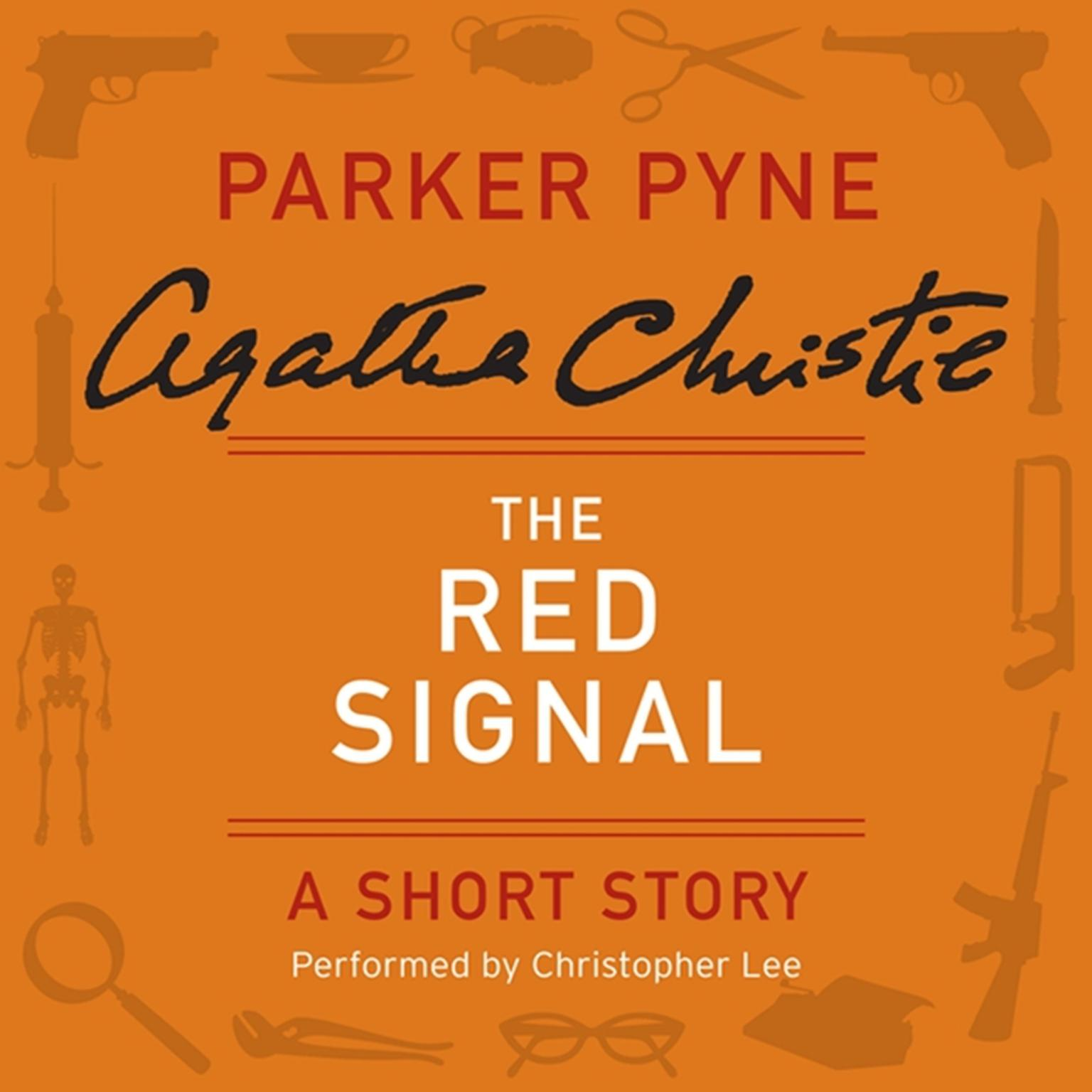 Printable The Red Signal: A Parker Pyne Short Story Audiobook Cover Art