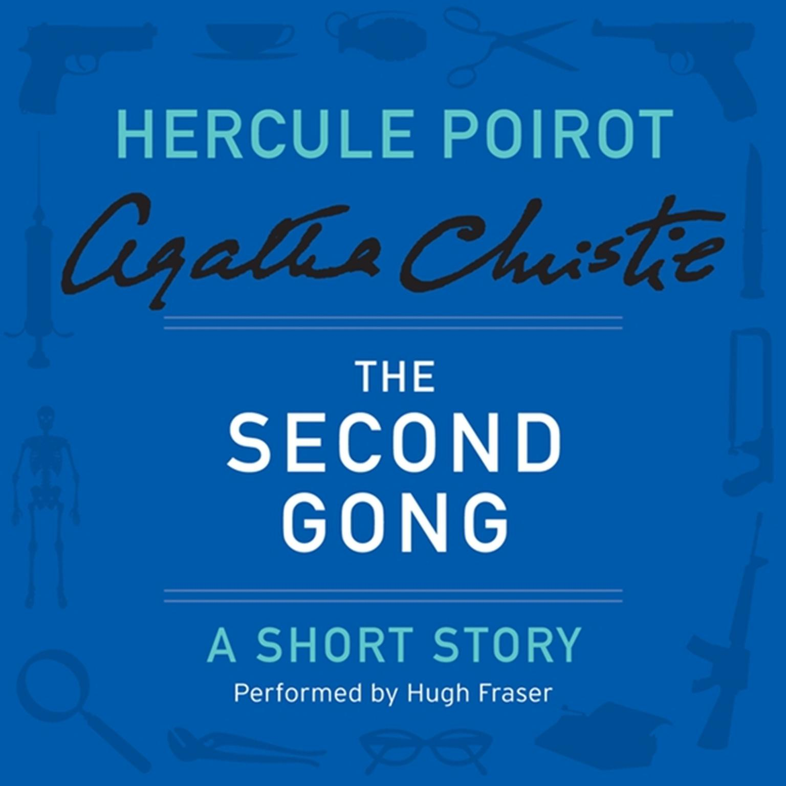 Printable The Second Gong: A Hercule Poirot Short Story Audiobook Cover Art