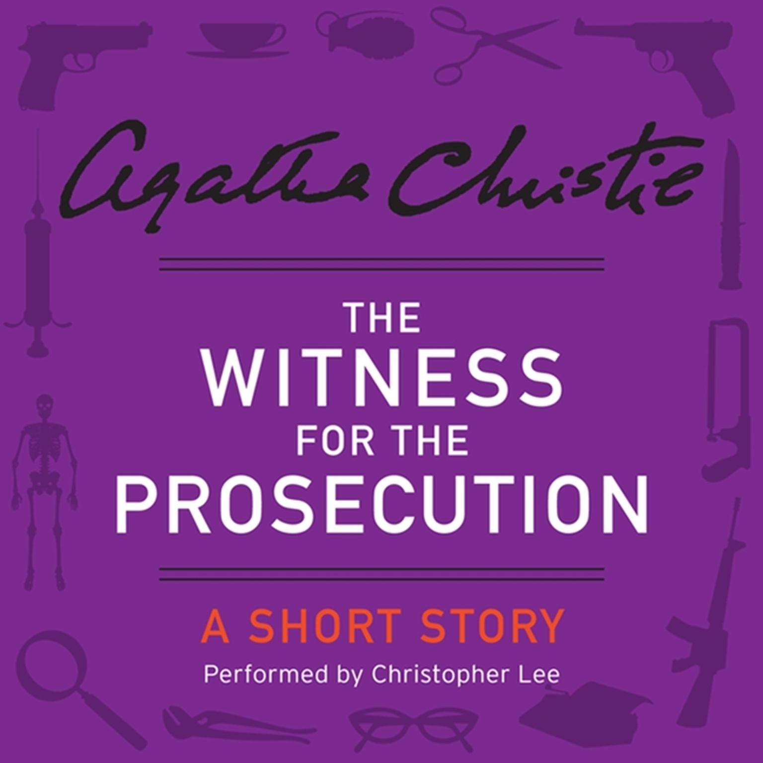 Printable The Witness for the Prosecution: A Short Story Audiobook Cover Art