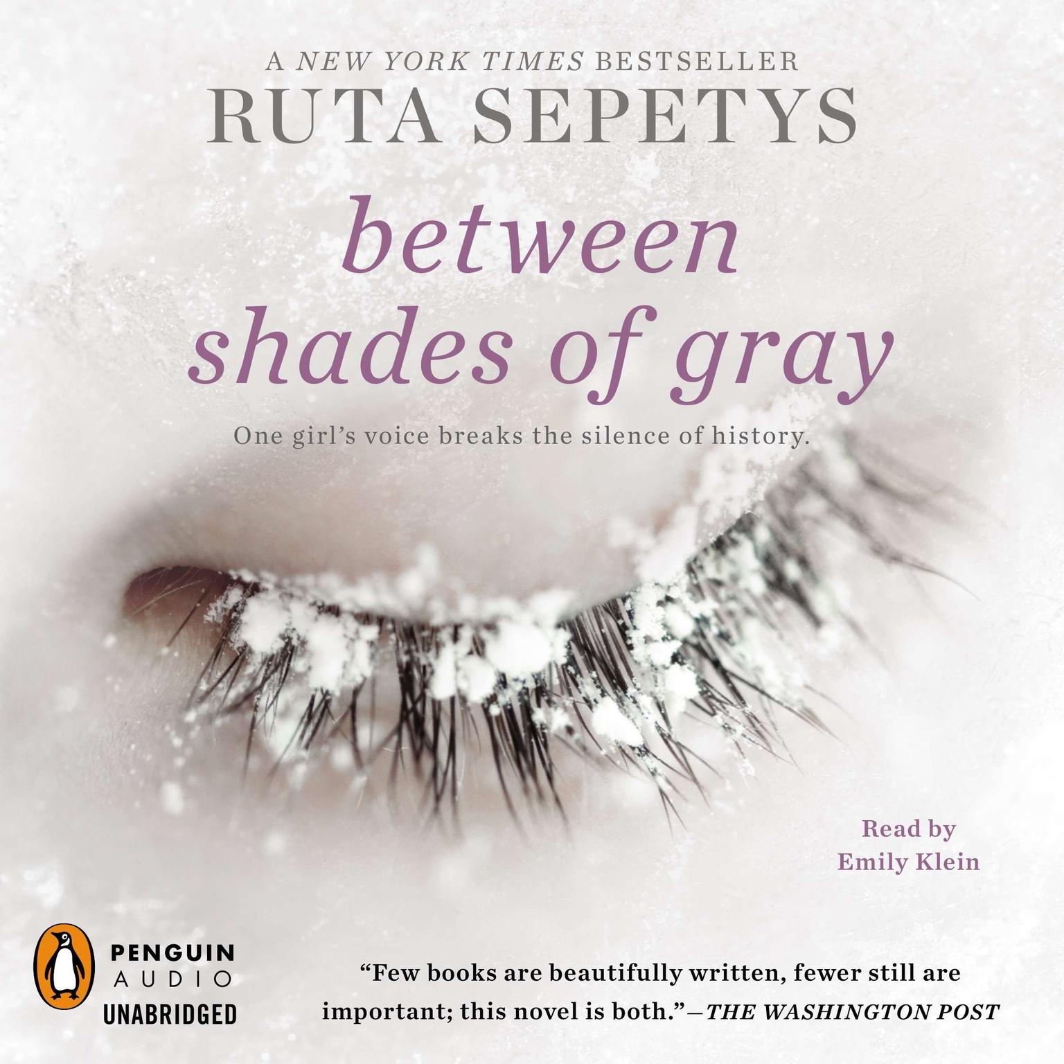 Printable Between Shades of Gray Audiobook Cover Art