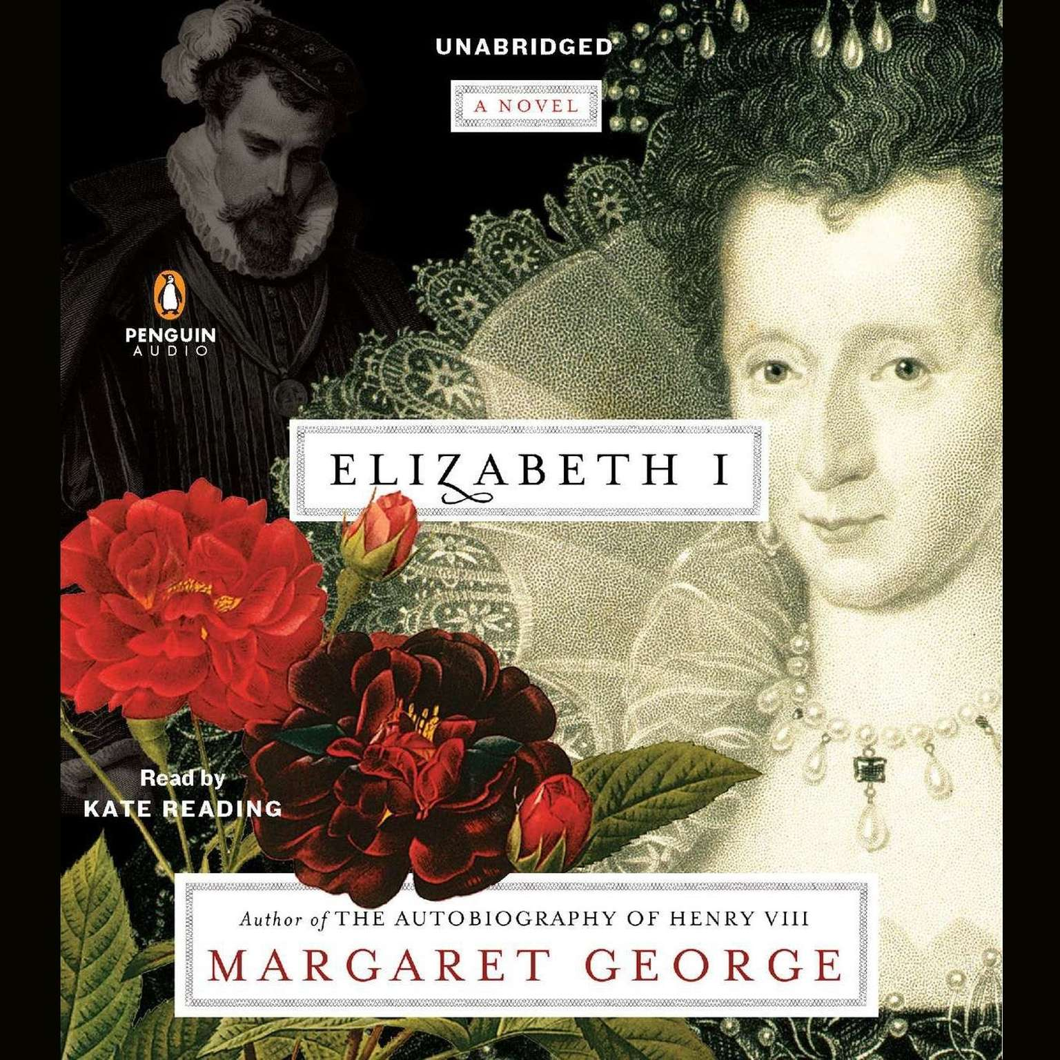 Printable Elizabeth I: A Novel Audiobook Cover Art