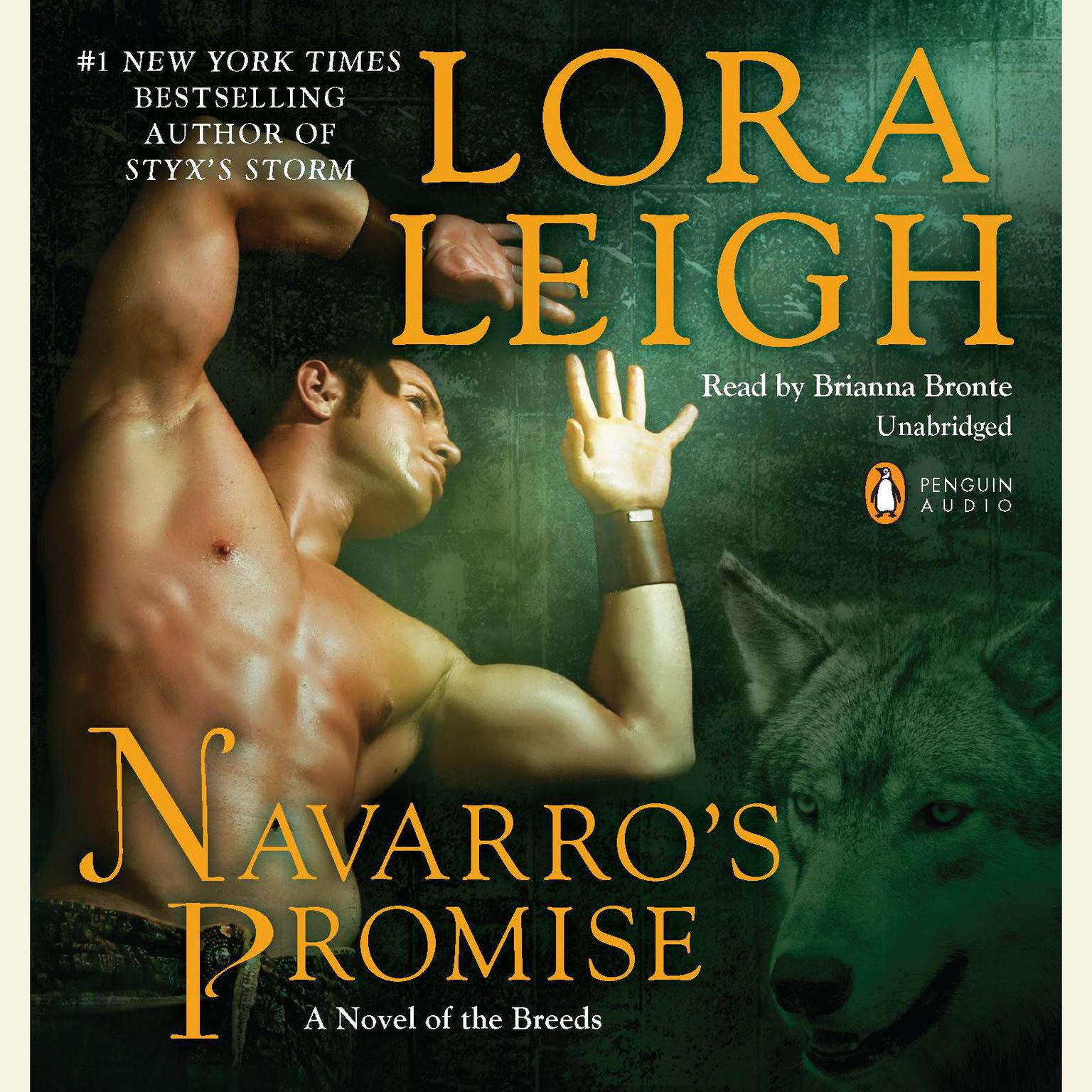 Printable Navarro's Promise: A Novel of the Breeds Audiobook Cover Art