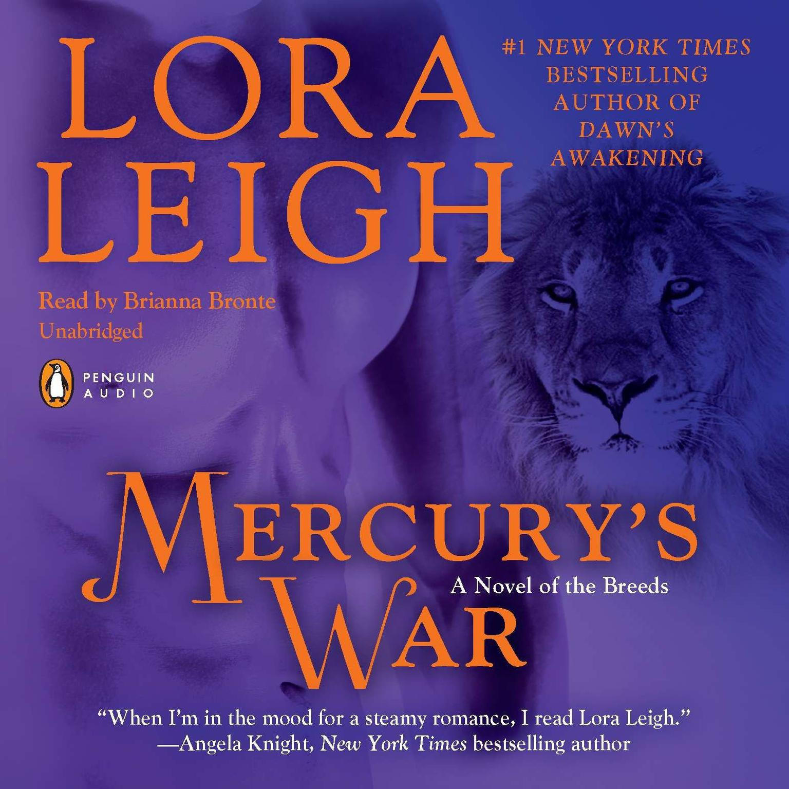 Printable Mercury's War: A Novel of the Breeds Audiobook Cover Art