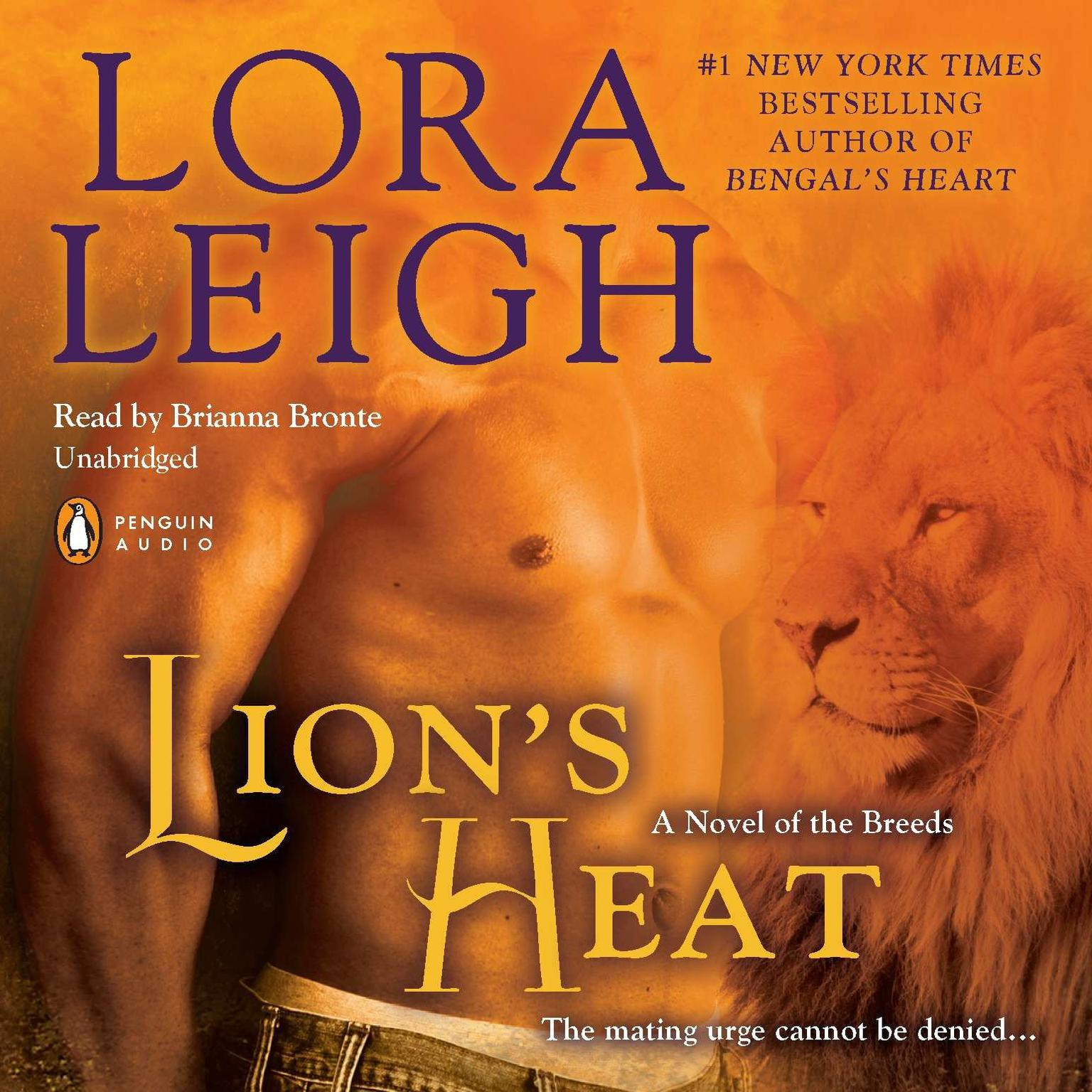 Printable Lion's Heat: A Novel of the Breeds Audiobook Cover Art