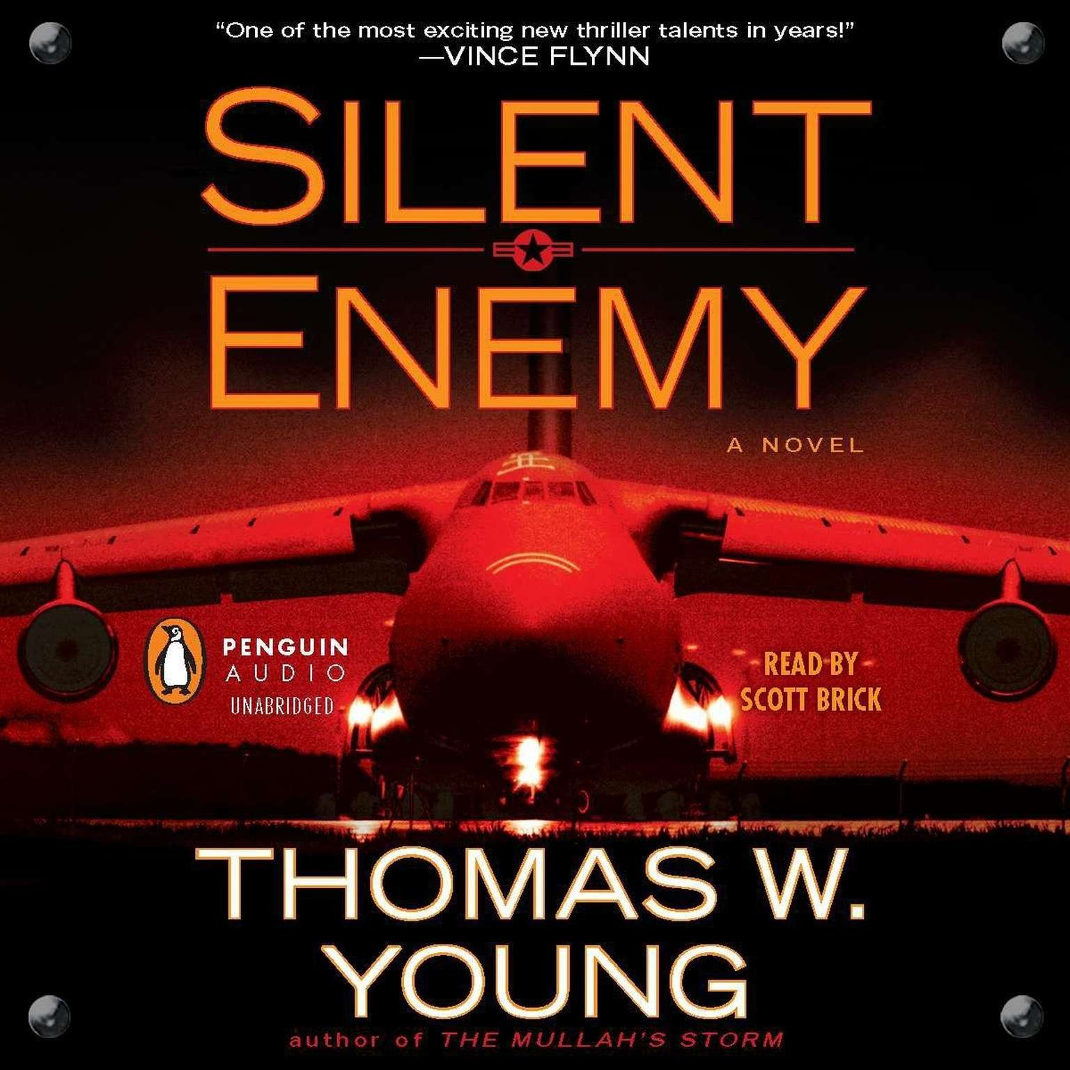 Printable Silent Enemy Audiobook Cover Art