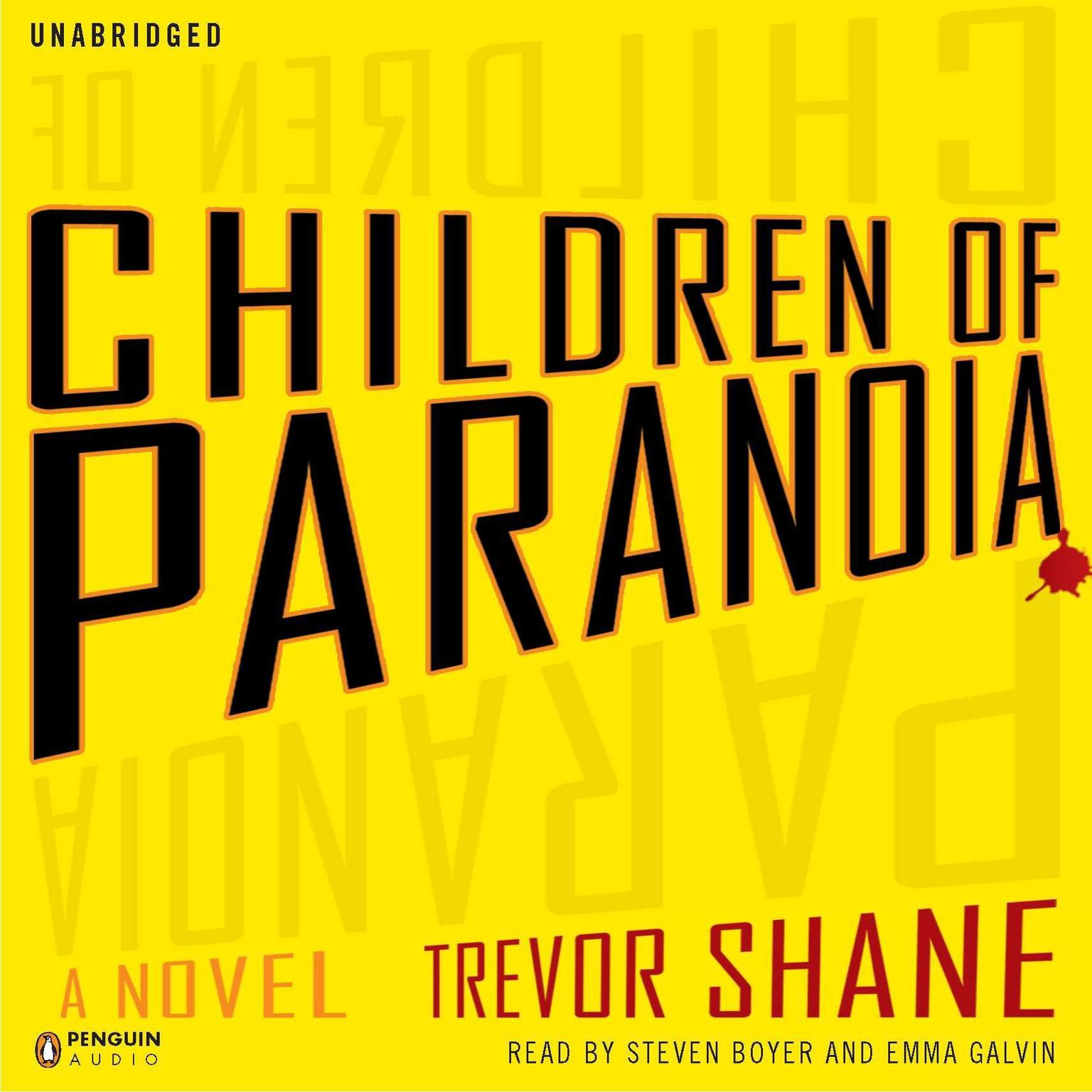 Printable Children of Paranoia Audiobook Cover Art