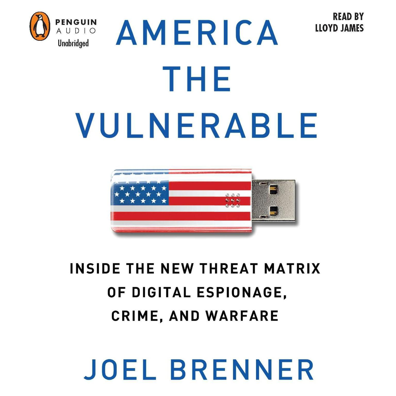 Printable America the Vulnerable: Inside the New Threat Matrix of Digital Espionage, Crime, and Warfare Audiobook Cover Art