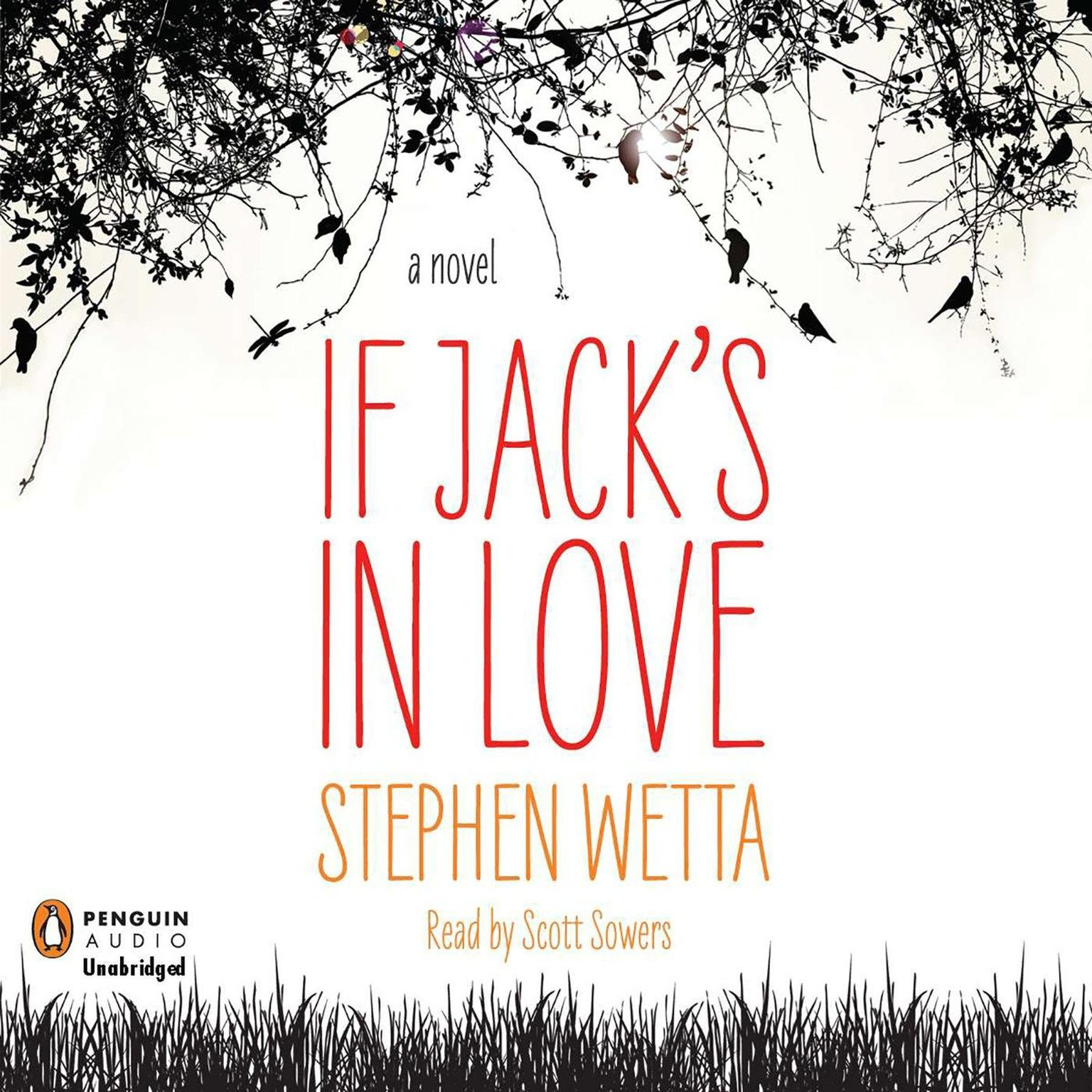 Printable If Jack's in Love Audiobook Cover Art