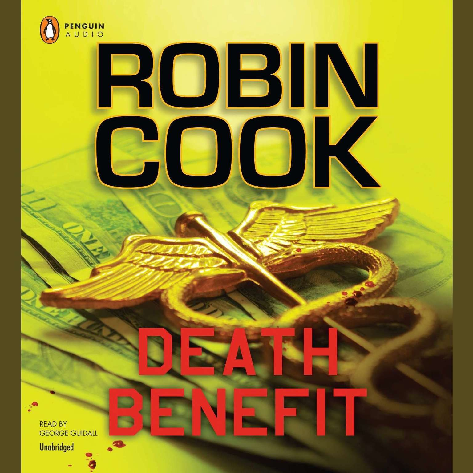 Printable Death Benefit Audiobook Cover Art
