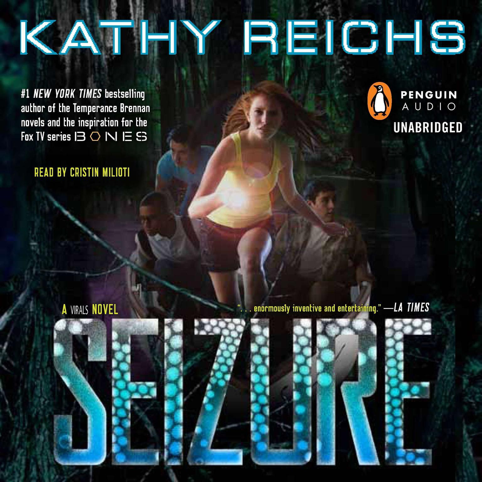 Printable Seizure: A Virals Novel Audiobook Cover Art