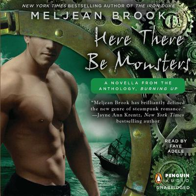 Here There Be Monsters Audiobook, by Meljean Brook