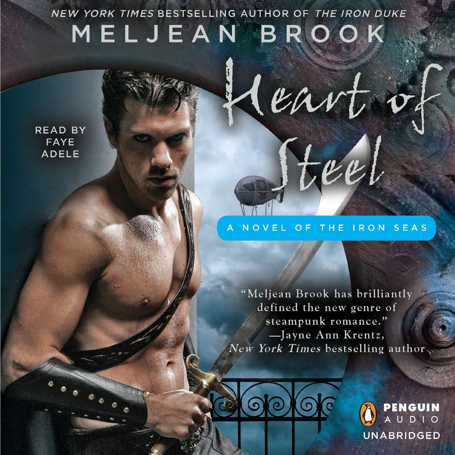 Printable Heart of Steel Audiobook Cover Art
