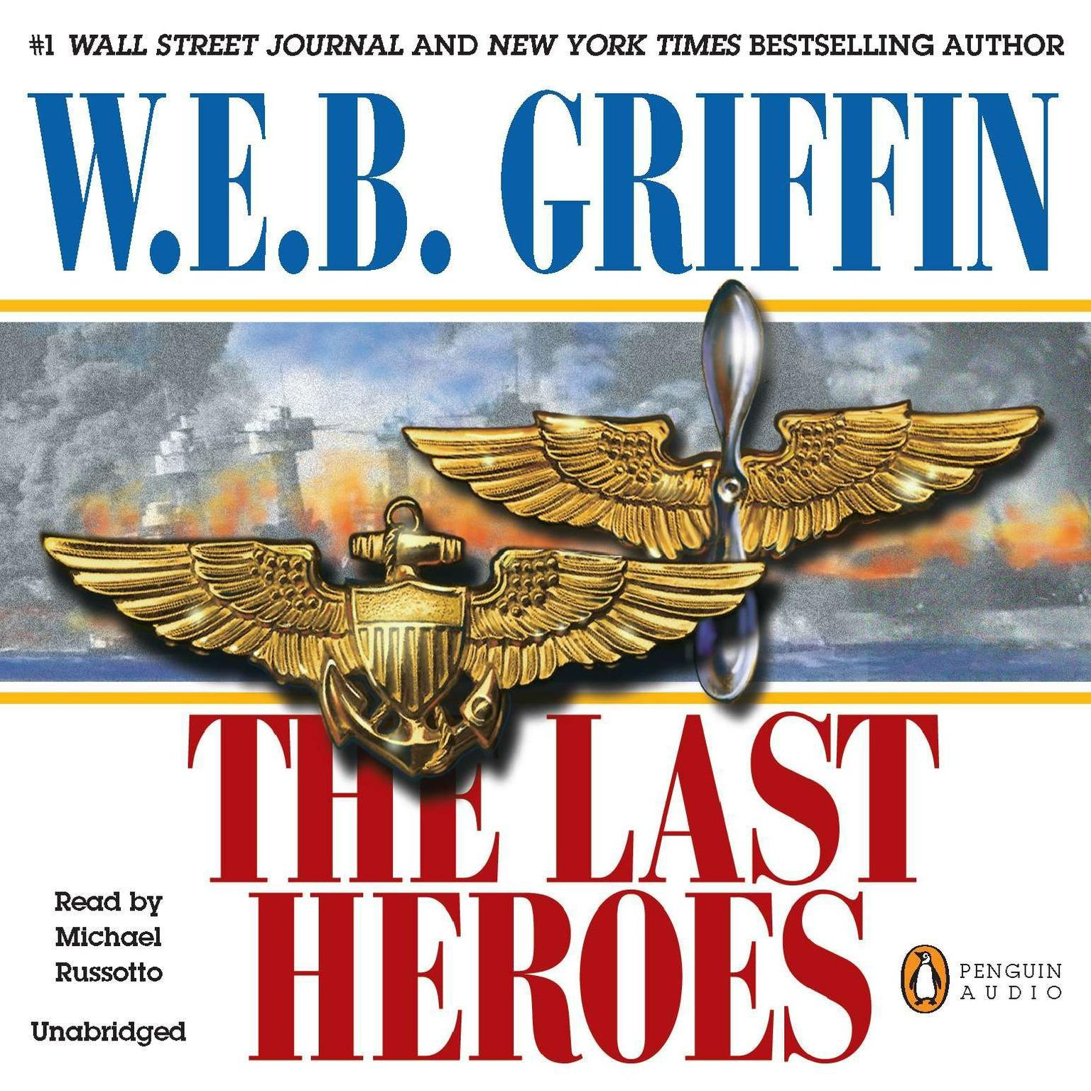 Printable The Last Heroes: A Men at War Novel Audiobook Cover Art
