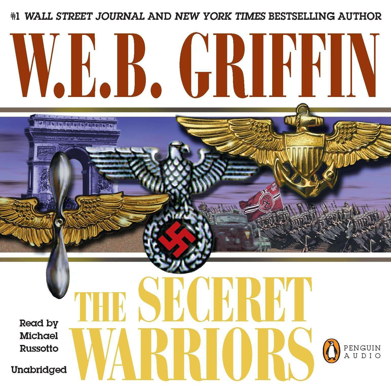 Printable The Secret Warriors Audiobook Cover Art