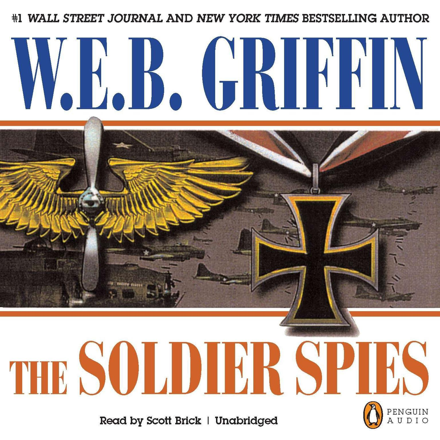 Printable Soldier Spies Audiobook Cover Art